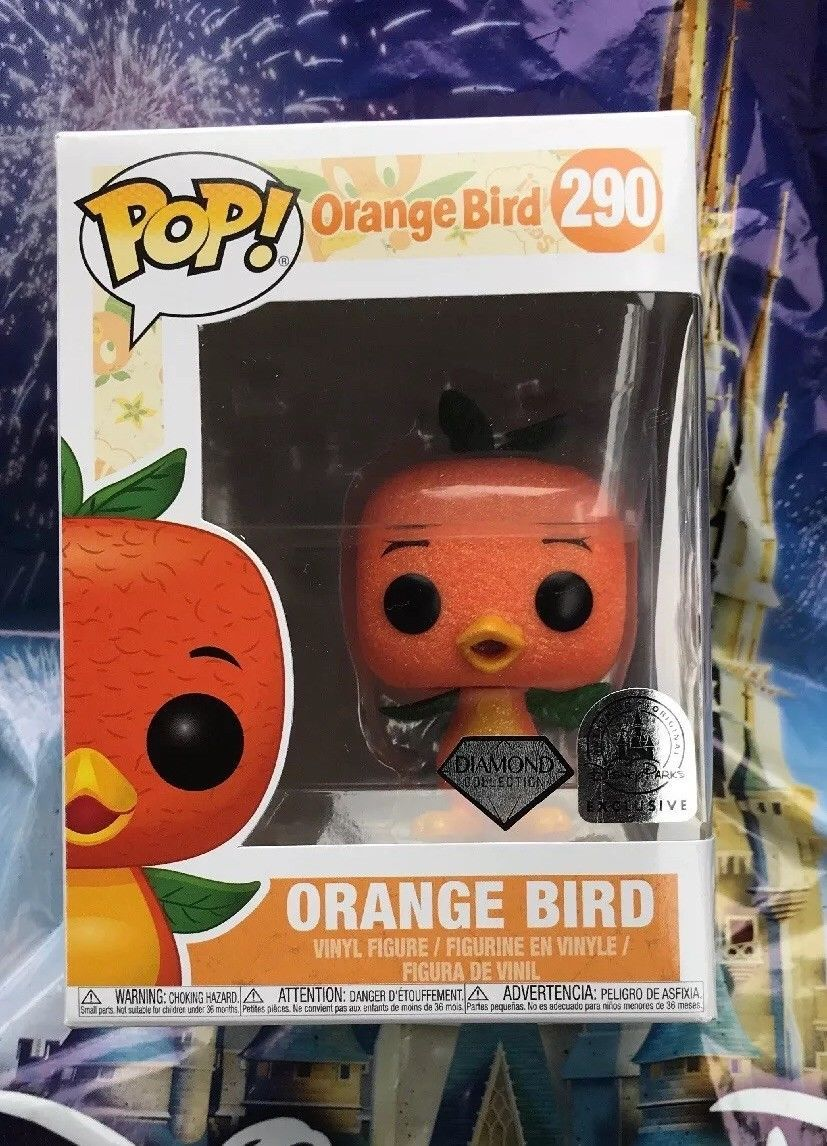 Orange Bird Diamond Collection
