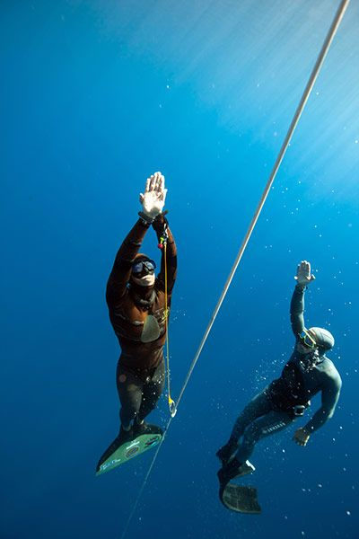 The AIDA Freediving World Championships – In Pictures