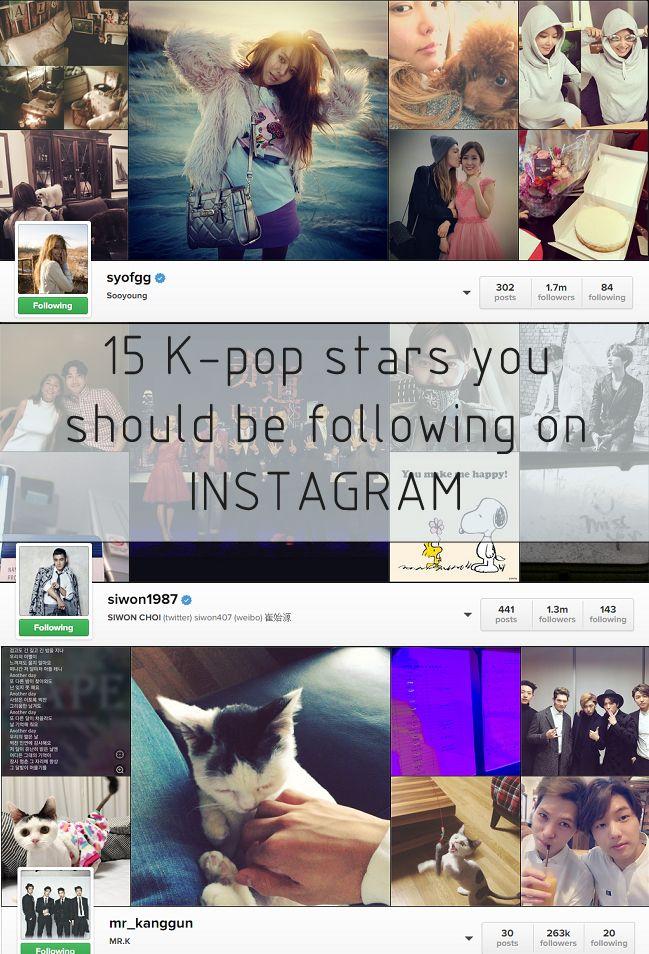 15 K Pop Idols You Should Follow On Instagram Kpop Siwon Idol
