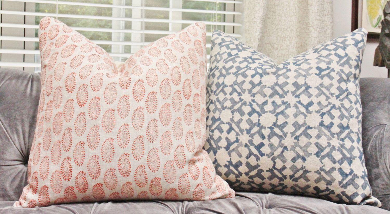 Orange Geometric Pillow - Orange Decorative Paisley Pillow Cover - Throw Pillow - Orange Geometric Pillow Cover by MotifPillows on Etsy https://www.etsy.com/listing/387407522/orange-geometric-pillow-orange