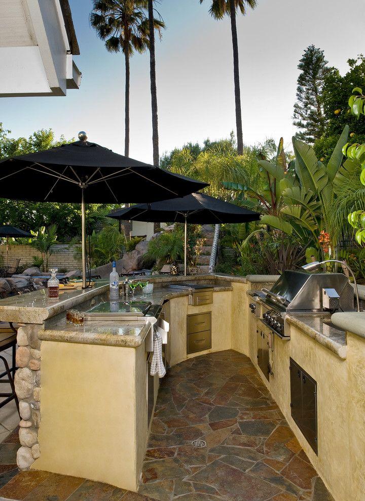 25 Outdoor Bar Ideas And Amazing Deck Design Ideas  Deck Design Cool Outdoor Kitchen Bar Designs Decorating Inspiration