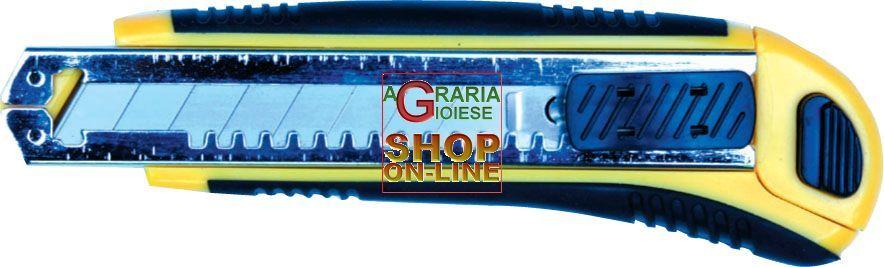 TAGLIERINO CUTTER TEKNA PRO CON 6 LAME https://www.chiaradecaria.it/it/ferramenta-utensili-manuali/17653-taglierino-cutter-tekna-pro-con-6-lame-8014211501357.html