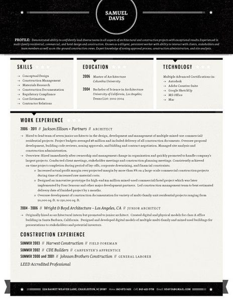 I would pick a different color, but really like this creative - really good resume examples