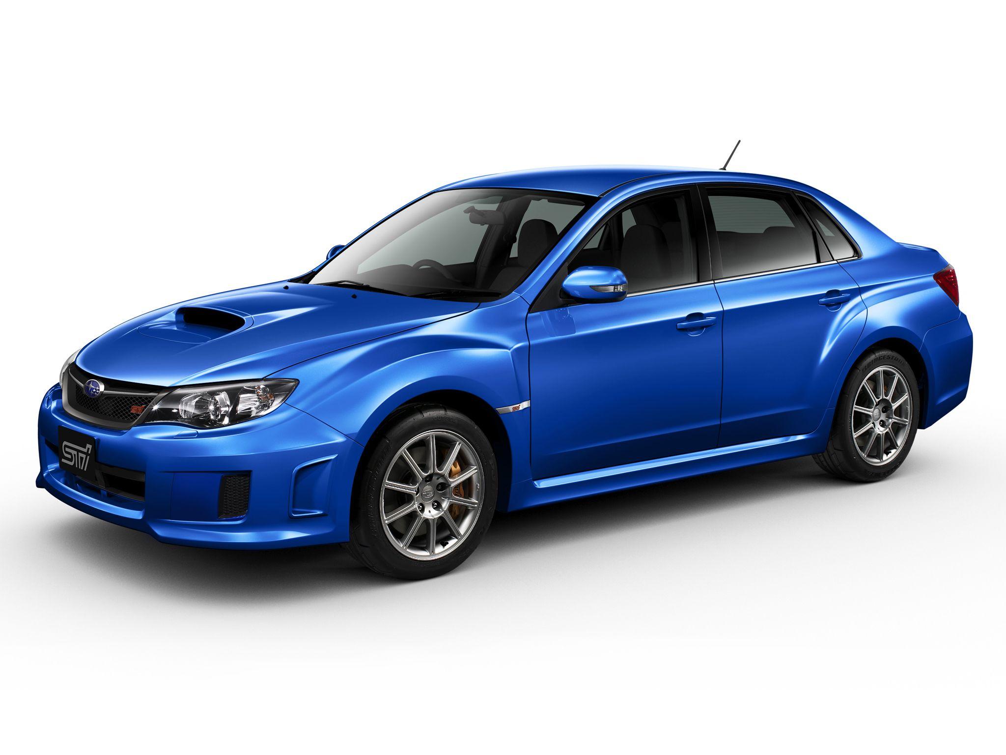 Subaru Impreza WRX STi Sedan Spec C '201214