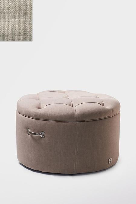 €399,- Park Avenue Footstool linen Flax #living #interior #rivieramaison