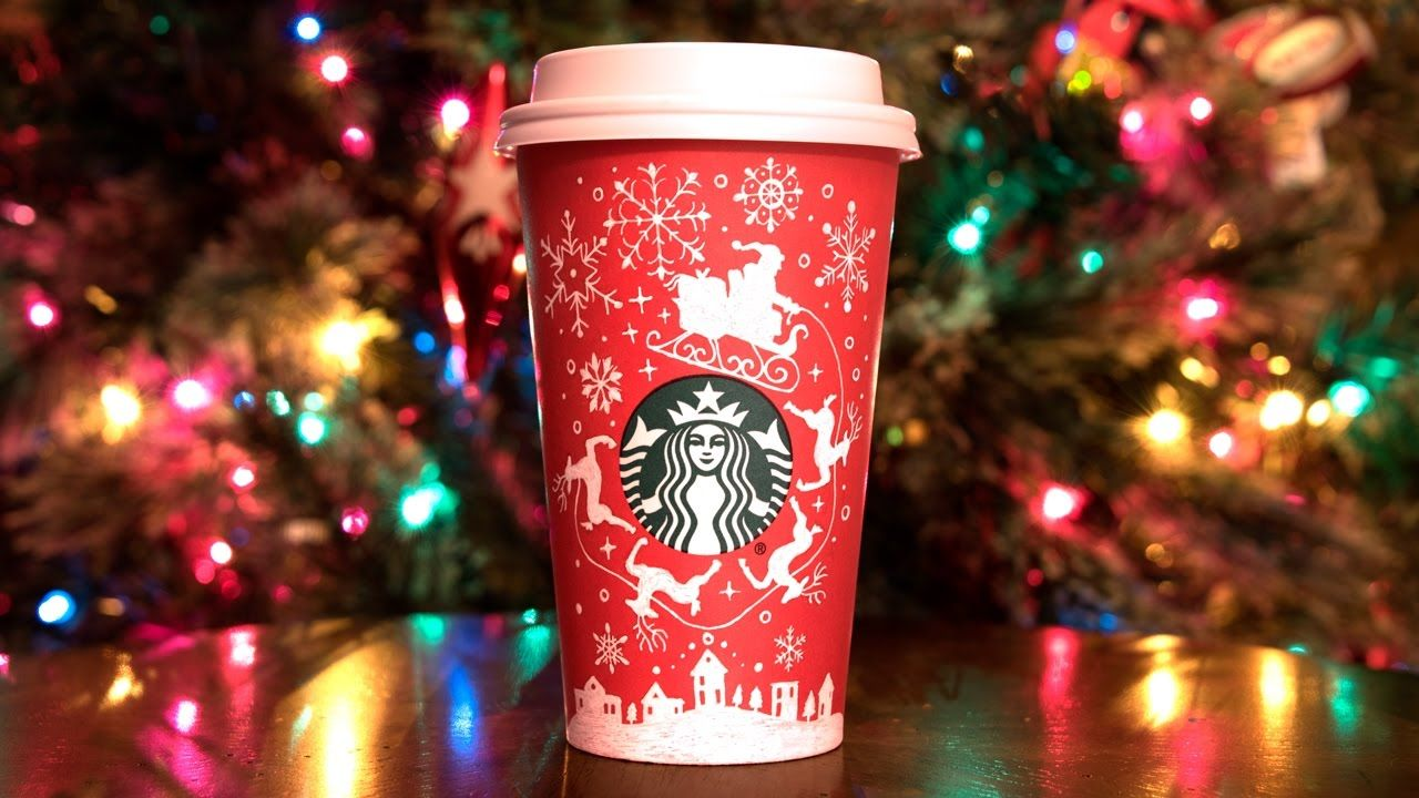 Drawing on my starbucks red cup 2016 my starbucks red