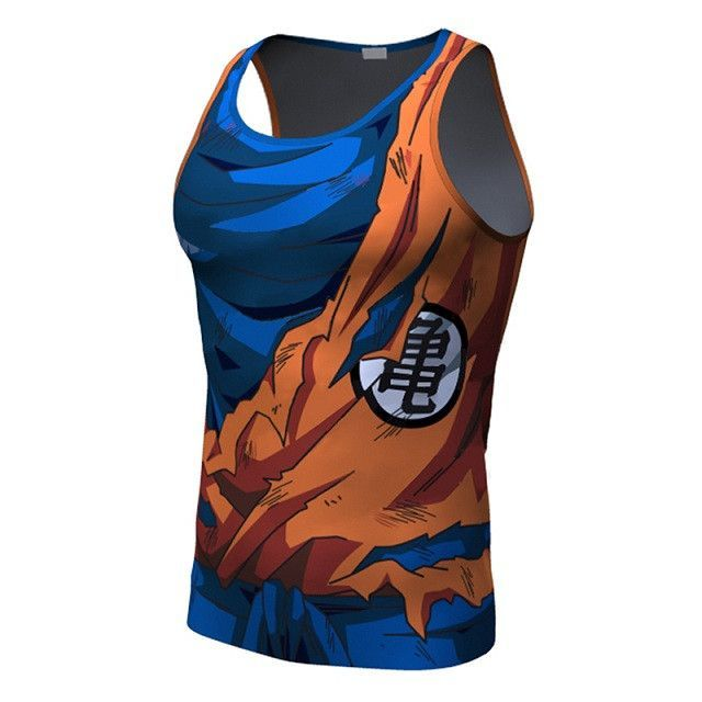 e01c3e854e156 These shirts feature a design inspired by characters of the Dragon Ball  series. They are also perfect for those of you that workout.