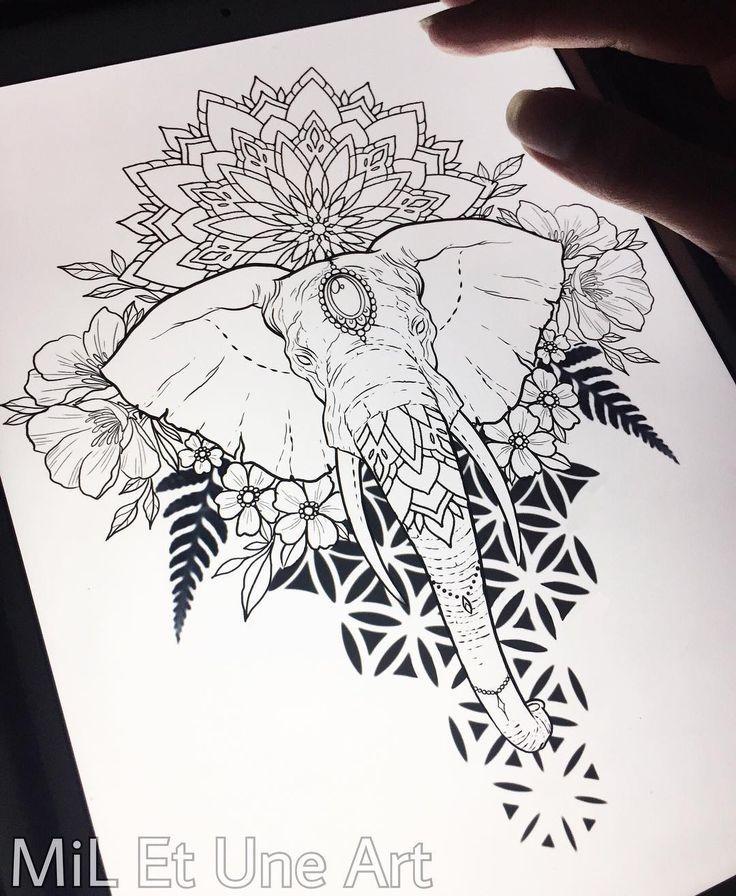 Photo of 544 mentions J'aime, 13 commentaires – MiL Et Une ~ Art et Tatouage (@ mi_li3_art) sur Instagram: â … – New Ideas