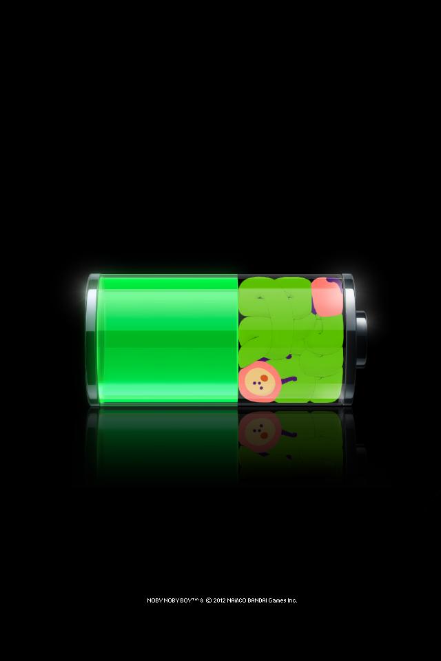 Wallpaper Broken Battery