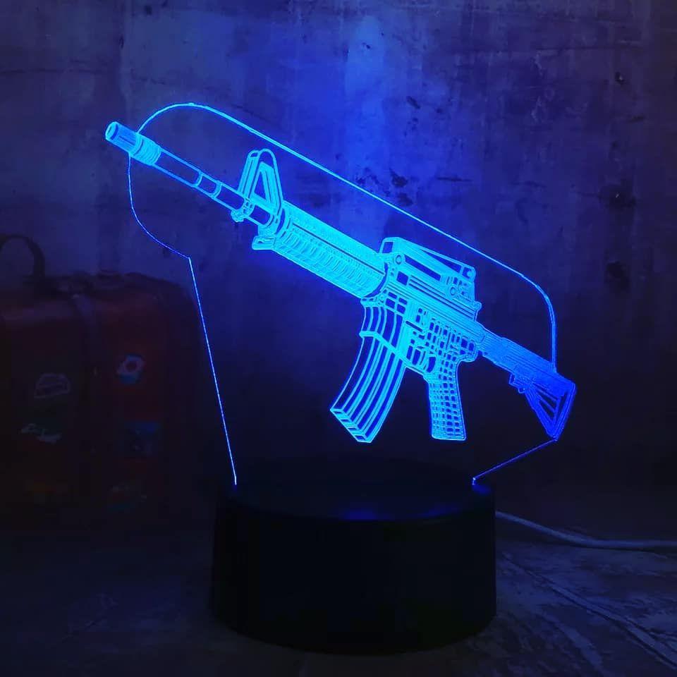 Lampe 3D Skin M4 Disponible sur notre boutique