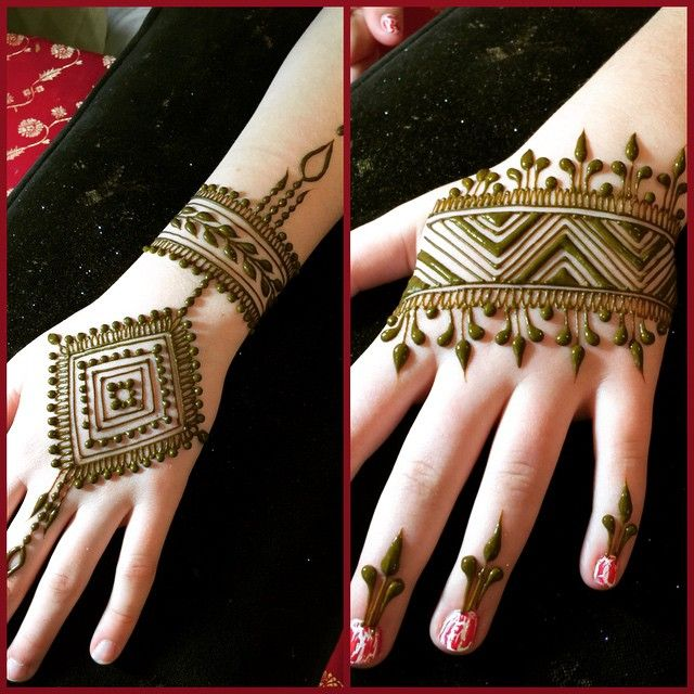 Henna By Leyla Shemesh: Sweet Birthday Party Henna By Heartfire Henna (With Images
