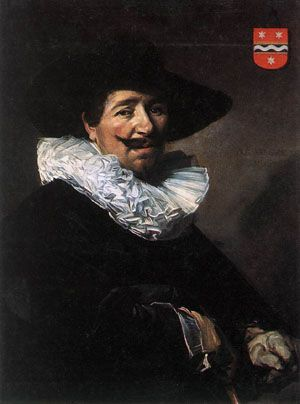 Handmade Oil Painting Reproductions of Andries Van Der Horn1638, Oil Painting by Frans Hals