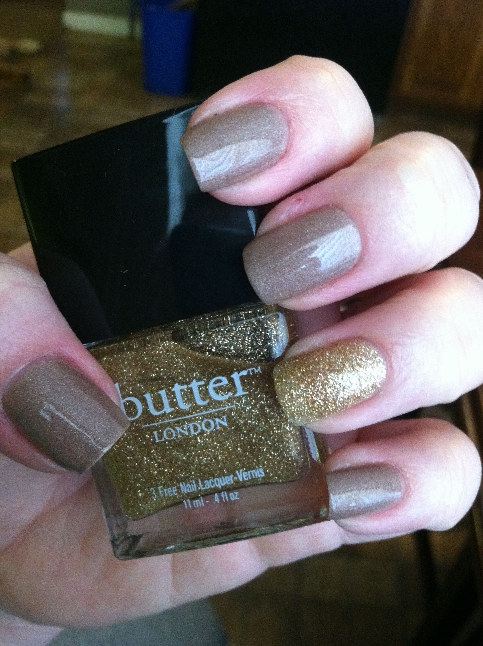 Butter- all hail the queen with west end wonderland. LOVE these colors!