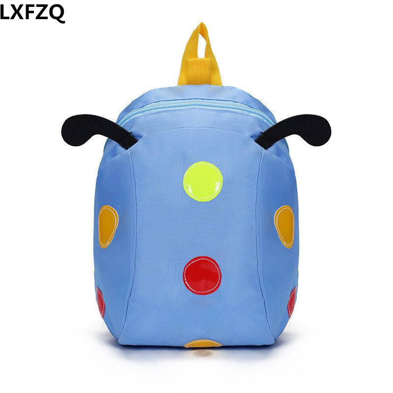 1 ~ 3 years old anti-lost children s bags 5 colors kid s backpack Cartoon school  bags nylon children s backpacks b8bb98d26c368
