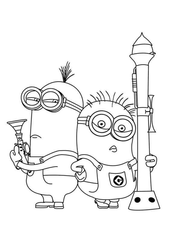 Disegni Da Colorare Minions On Line.30 Disegni Dei Minions Da Colorare Minion Coloring Pages
