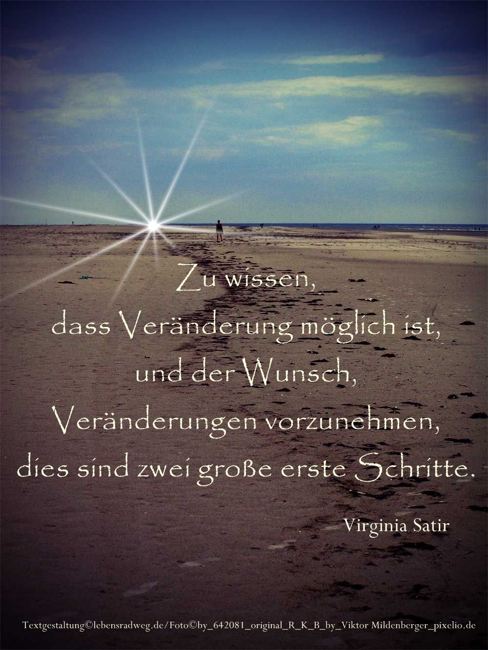 zwei Schritte zur Veränderung | German Sayings | Quotes, Wise