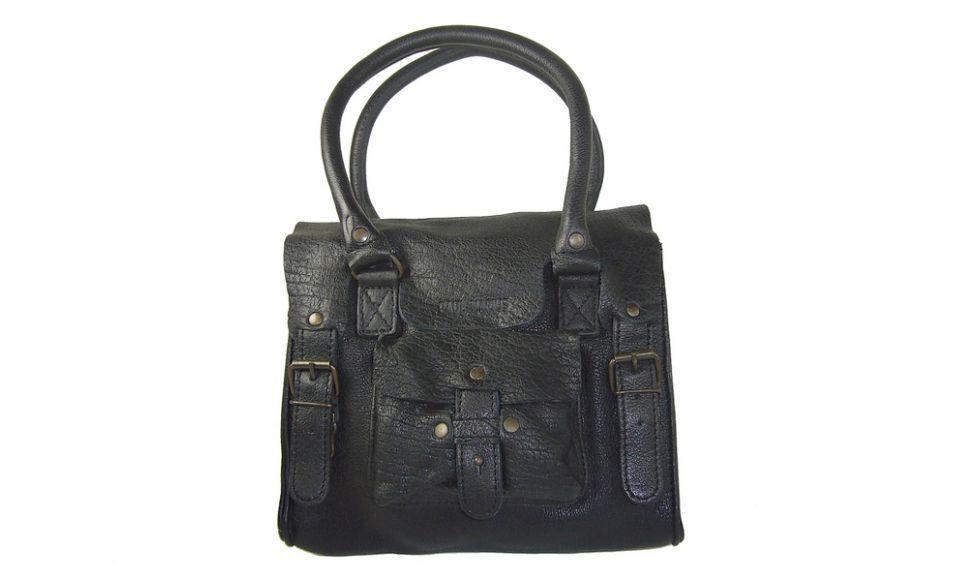 e171dc3199 *Le petit Rive gauche noir de Paul Marius, du cuir de buffle bubble pour un mini  sac à main vraiment top!