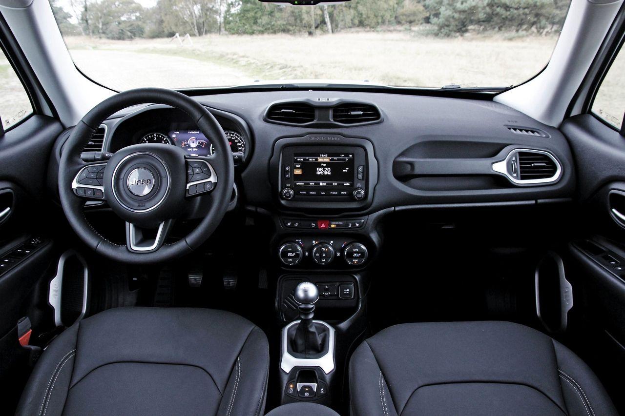Jeep Renegade Interior >> Interior Jeep Renegade 2 0 Multijet Awd Cars2015 Jeep
