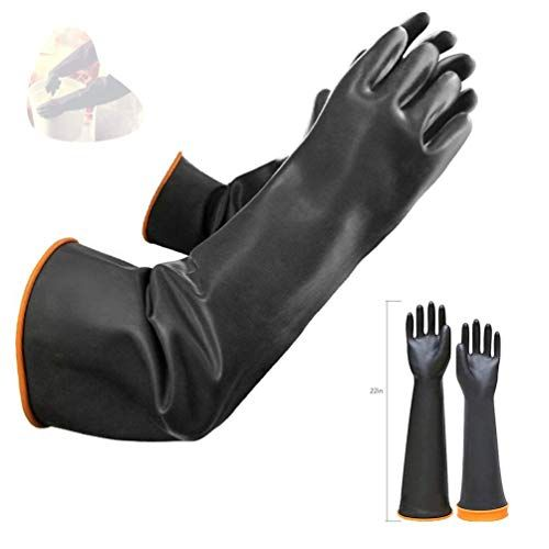 Protective Wonder Grip Gloves Flexible Work Oil Resistance Mittens Nitrile Nylon