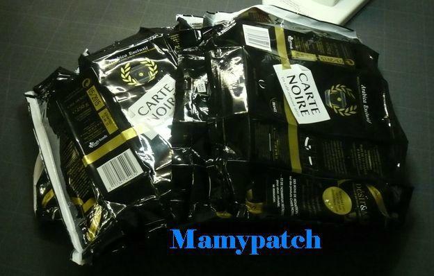 Tuto du sac réalisé avec des paquets de café Le Blog de