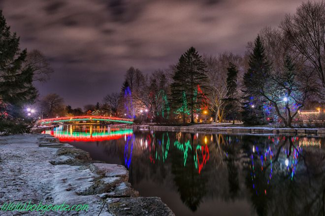 Photos The Weather Network Christmas Time Is Here Victoria Park Photo