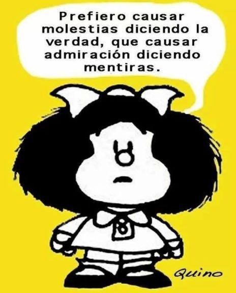Imágenes Bonitas Y Frases Para Compartir Mafalda Quotes