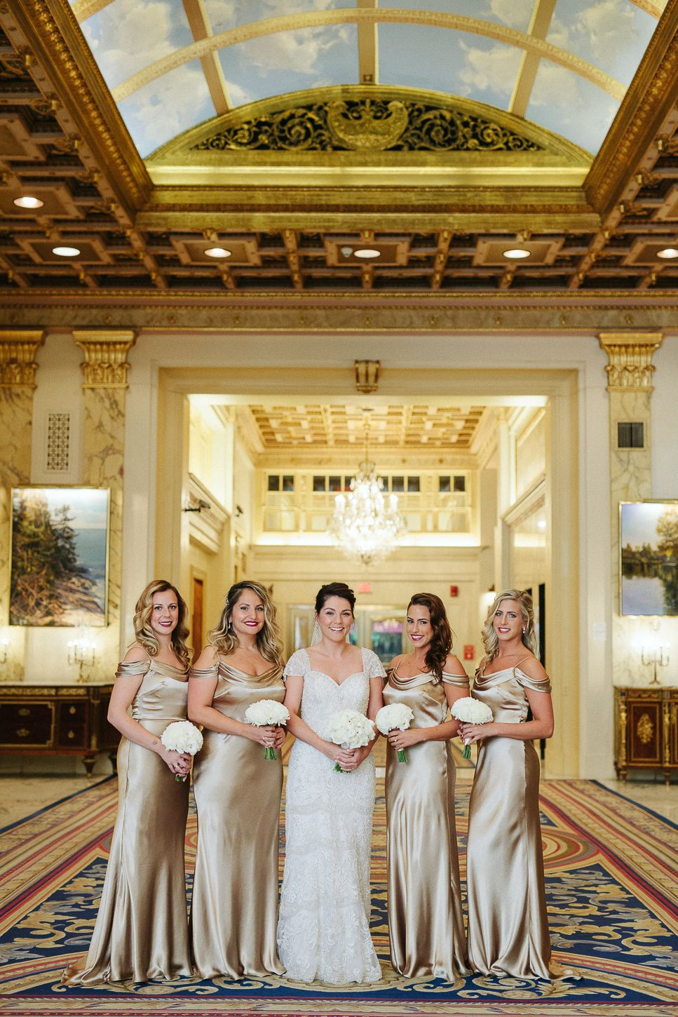 A Fairmont Copley Plaza Wedding Photographed By Boston Photographer Lisa Rigby This Chic City Took Place In Fall