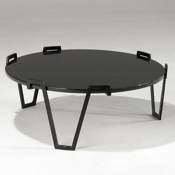 Jean Royere Granite And Enameled Metal Coffee Table C1955 Met