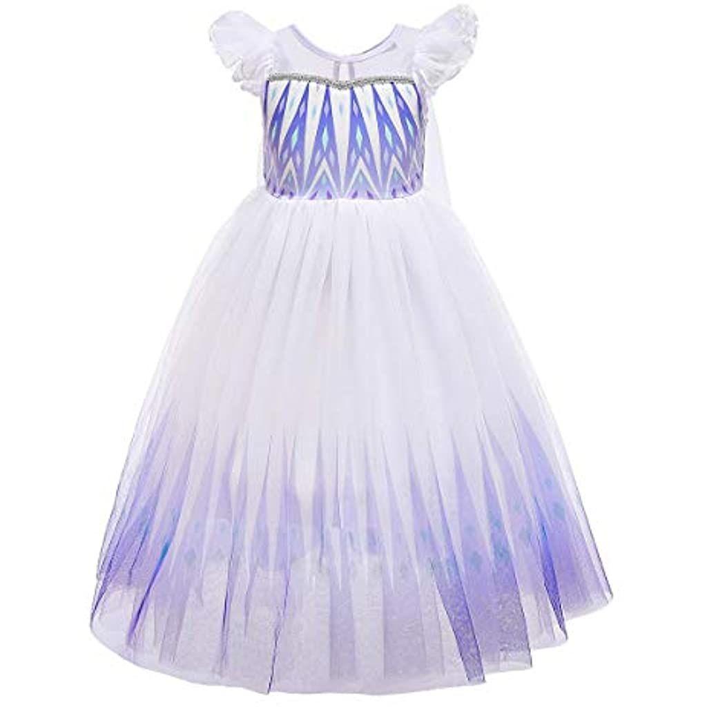 Idopip Madchen Elsa Kleid 2 Prinzessinnen Kostum Schneekonigin Weihnachten Karneval Verkleidung Geburtstag In 2020 Prinzessin Kostum Prinzessinnen Karneval Verkleidung