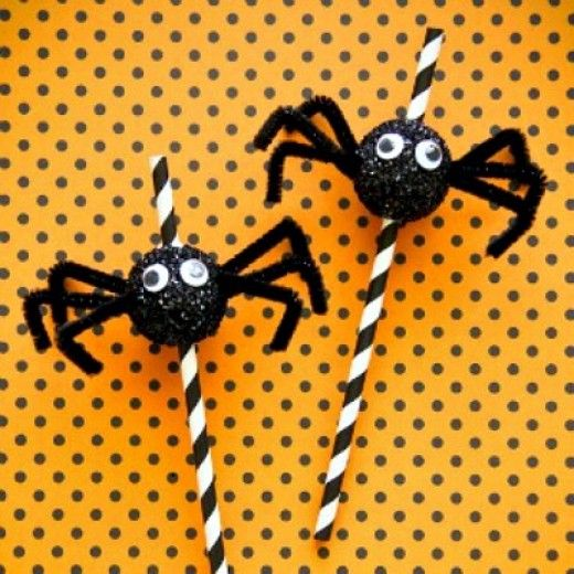 37 creepy spider craft ideas - Halloween Spider Craft Ideas