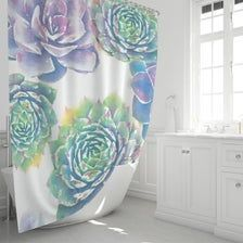 Photo of Custom Shower Curtain Hand Made 72 Floral Shower   Etsy Click on the image to Ch…