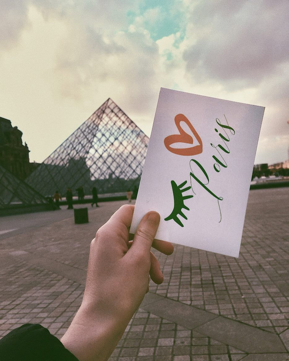 From Paris with love  Next Wednesday is Valentines Day