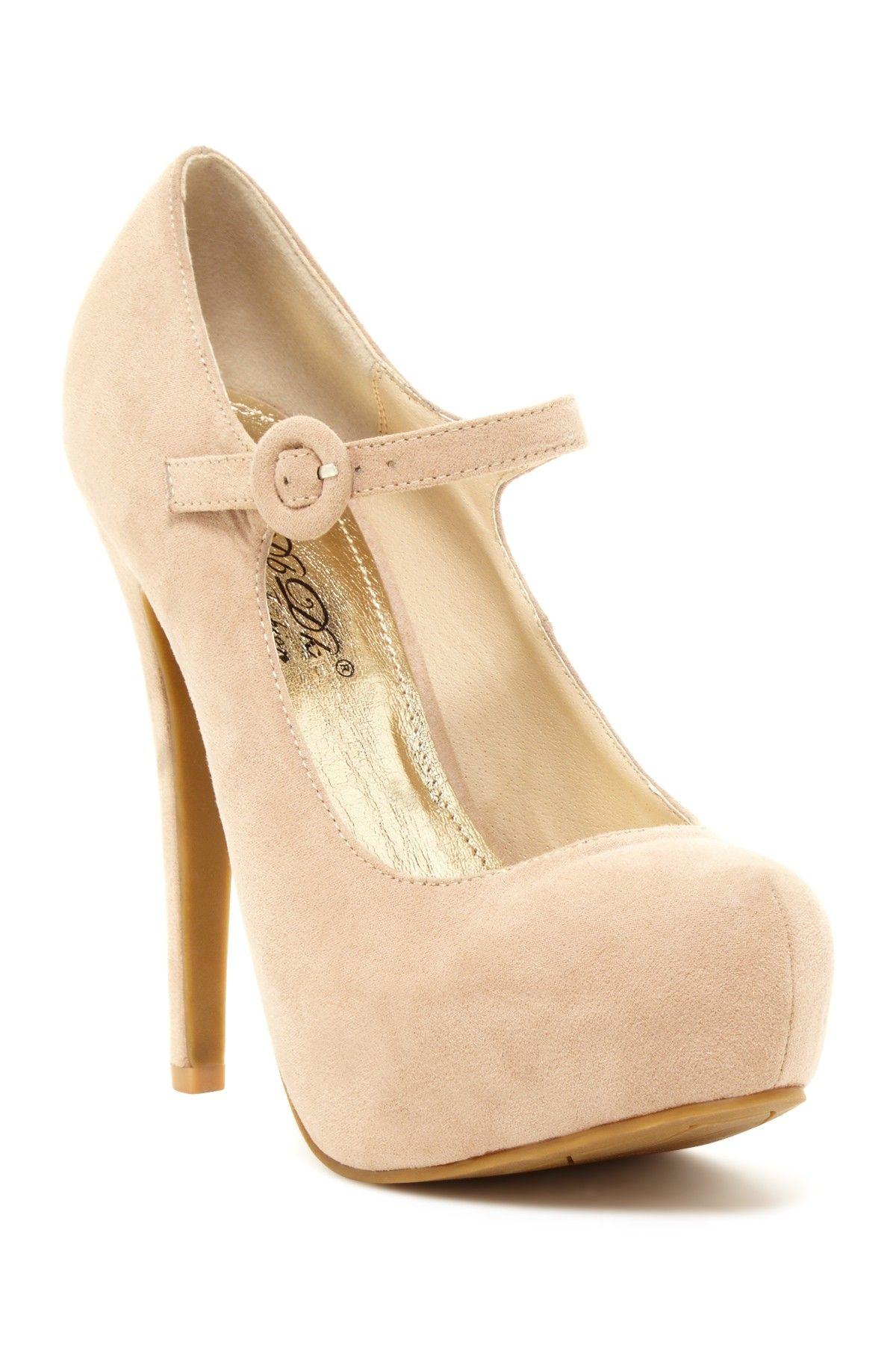Nulinda Mary Jane Pumps // elegant
