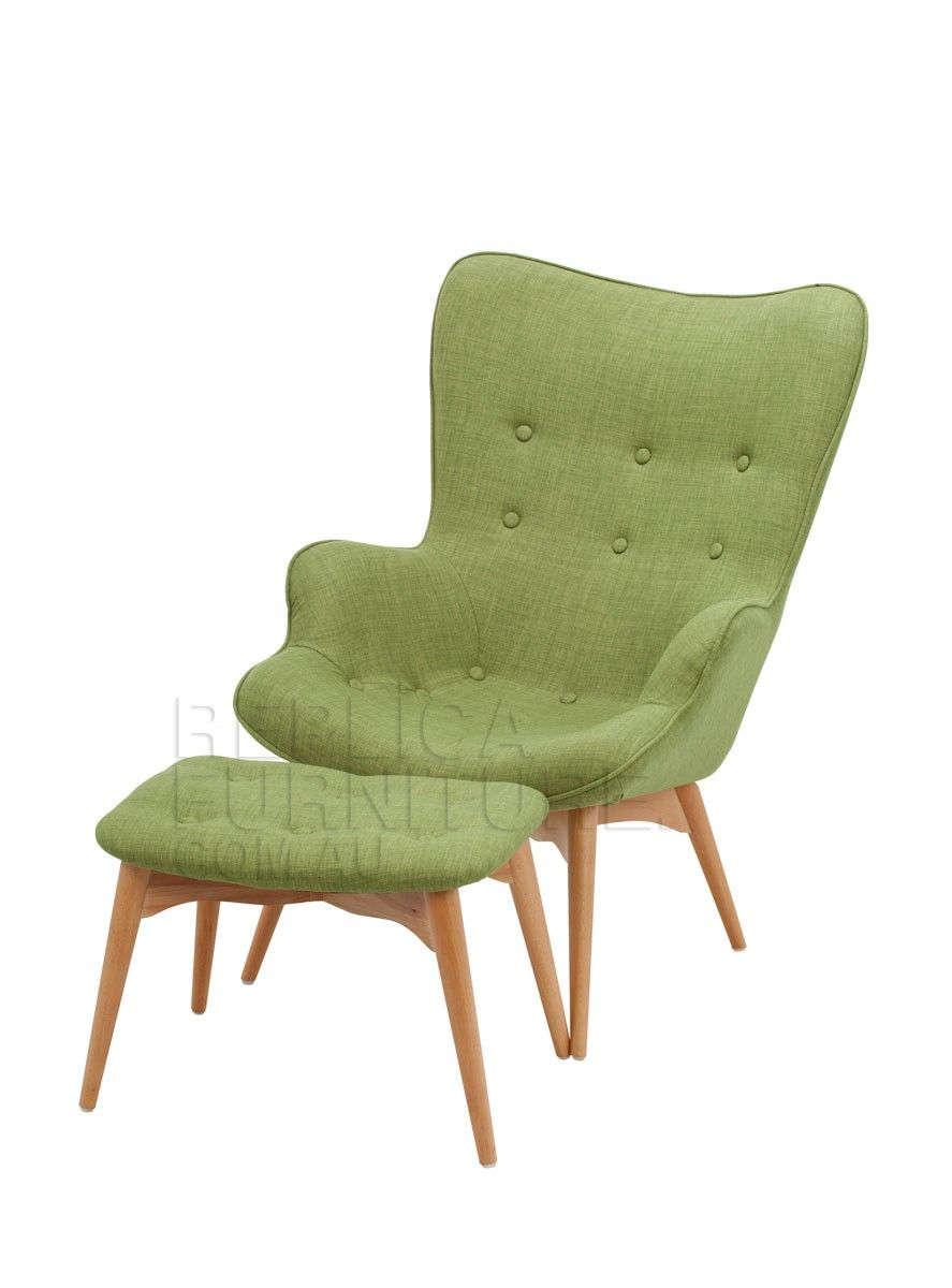 Replica grant featherston contour lounge chair r160 with for Lounge chair replica erfahrungen