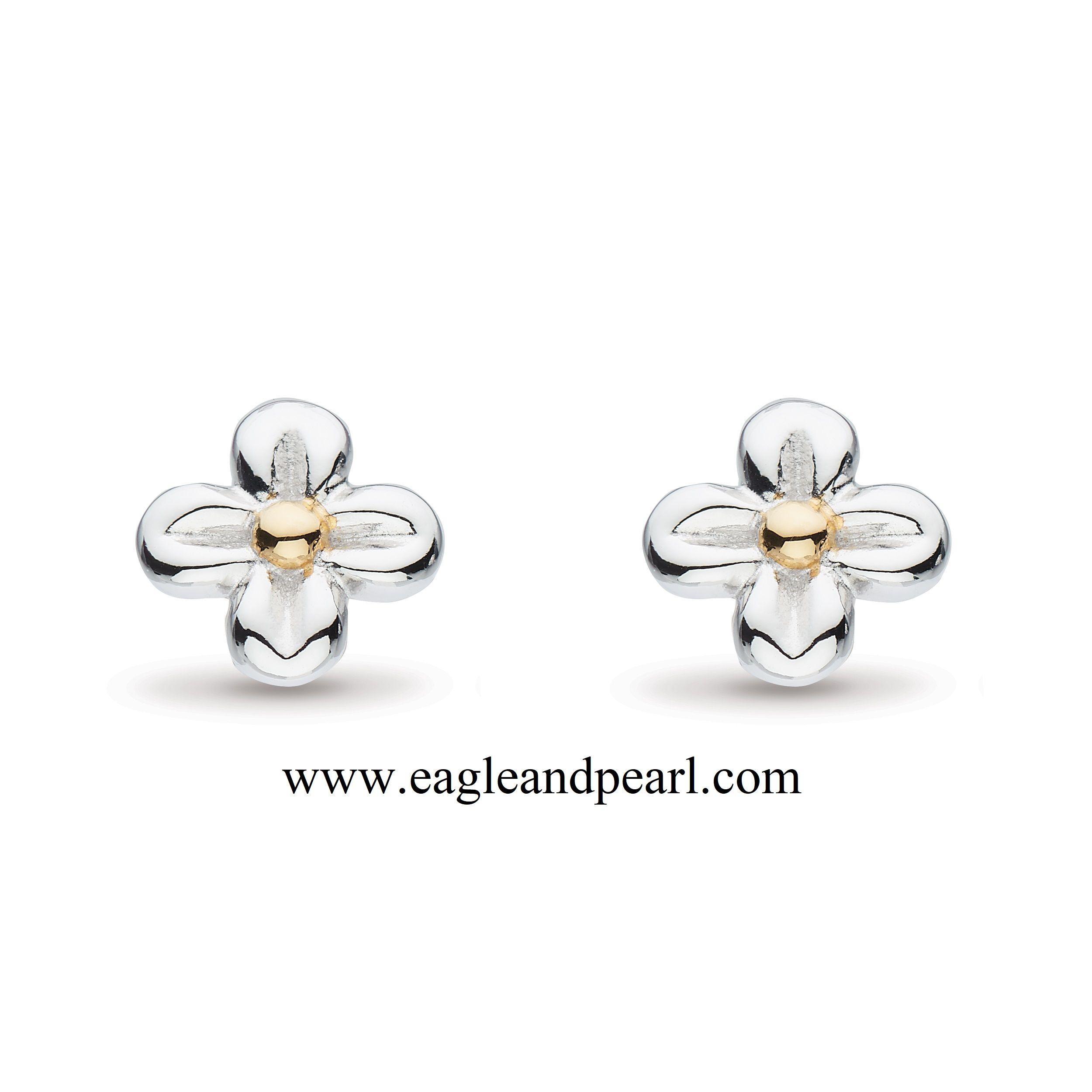 Blossom Flyte Honey Flower Stud Earrings In 2020 Flower Earrings Studs Stud Earrings Sterling Silver Earrings Studs