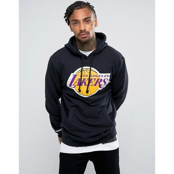 Mitchell & Ness NBA L.A Lakers Hoodie (€63) ❤ liked on
