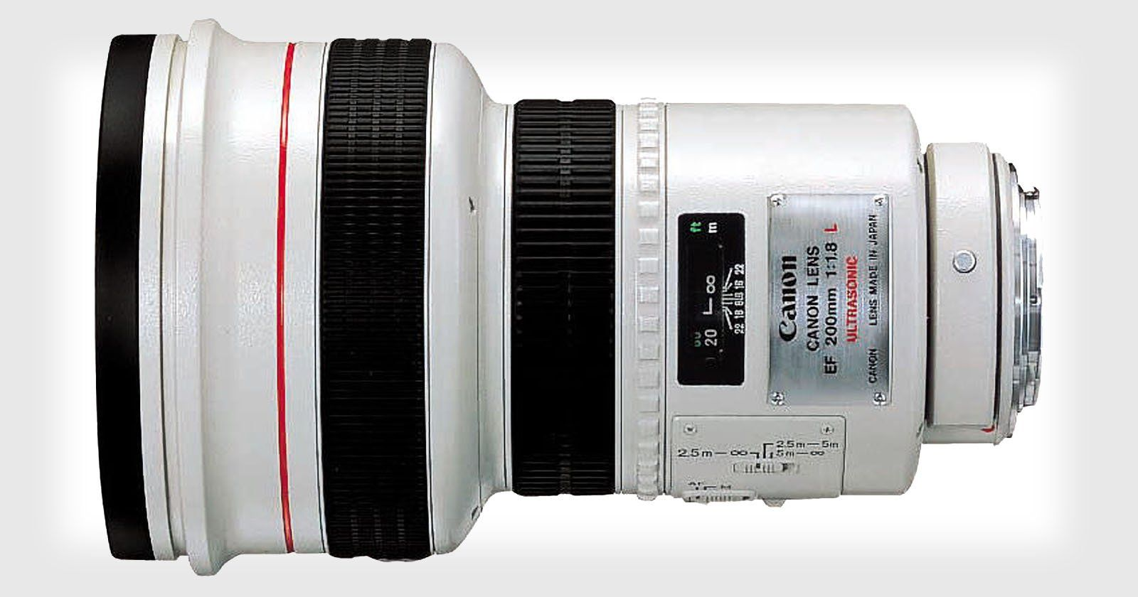 Canon 200mm F 1 8 A Legendary Lens Known As The Eye Of Sauron Digital Camera Photography Camera Photography Photography Equiptment