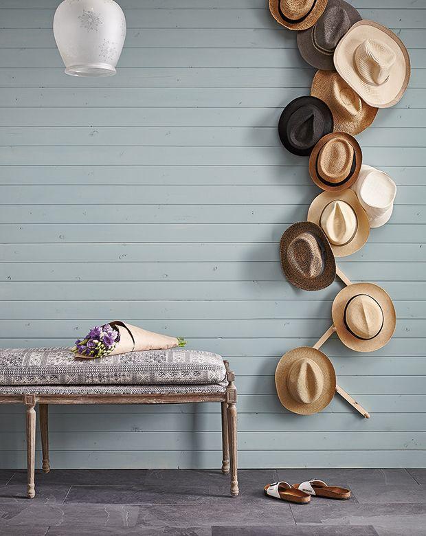 Diy Wall Mounted Hat Rack Diy Hat Rack Wall Hats Wall Mounted Hat Rack