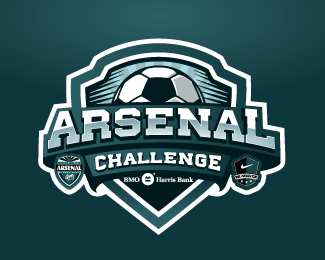Arsenal Challenge By Dax8989 Logo Design Inspiration Sports Sports Logo Design Football Logo Design