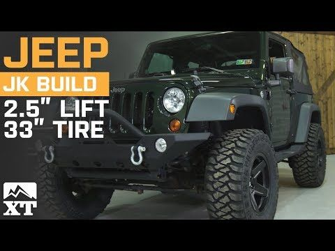 Jeep Wrangler 33 Vs 35 Vs 37 Inch How To Select The Best Tires
