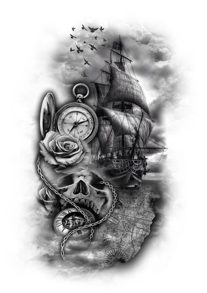 gallery | custom tattoo designs | 555 | Tattoos, Map ...