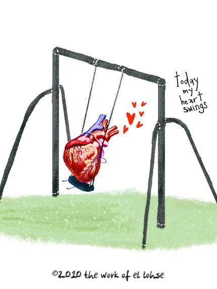 Today My Heart Swings: by elloh