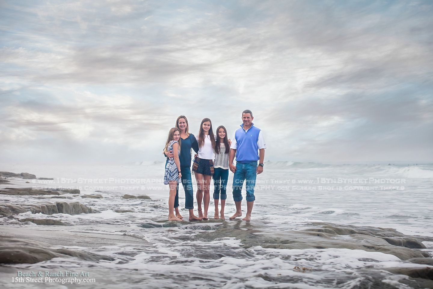 Beautiful Fine Art Family Portrait Candid Lifestyle Beach North County San Go Photographer Serving Oceanside Carlsbad