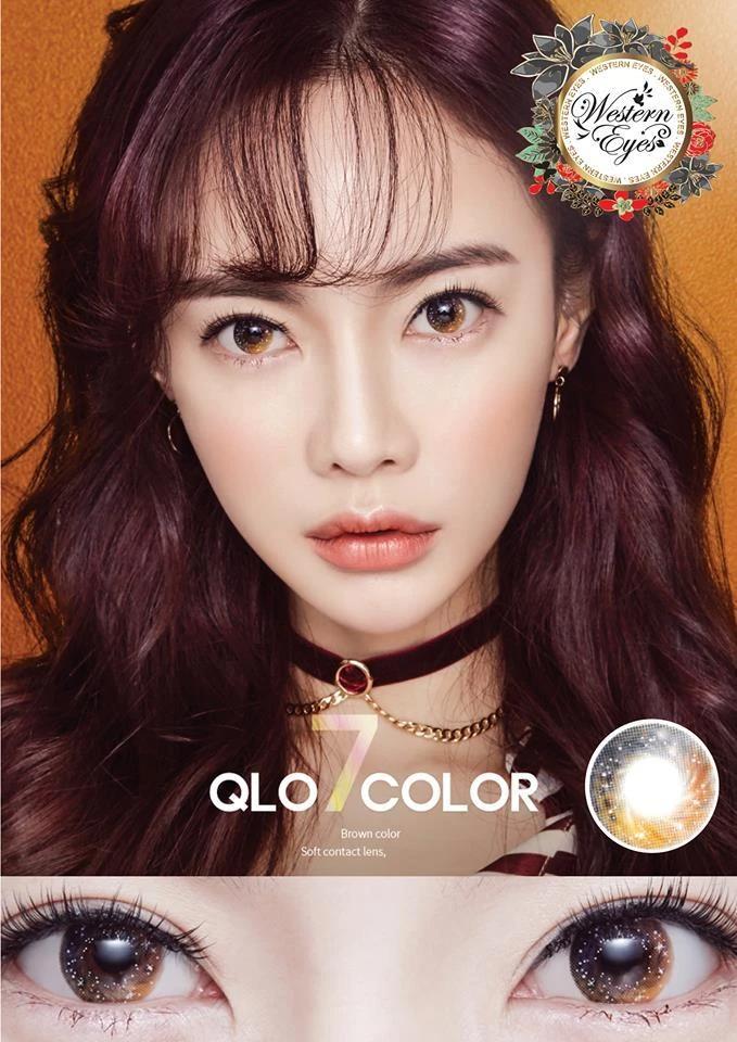 Western Eyes Qlo Brown in 2020 Contact lenses, Korean
