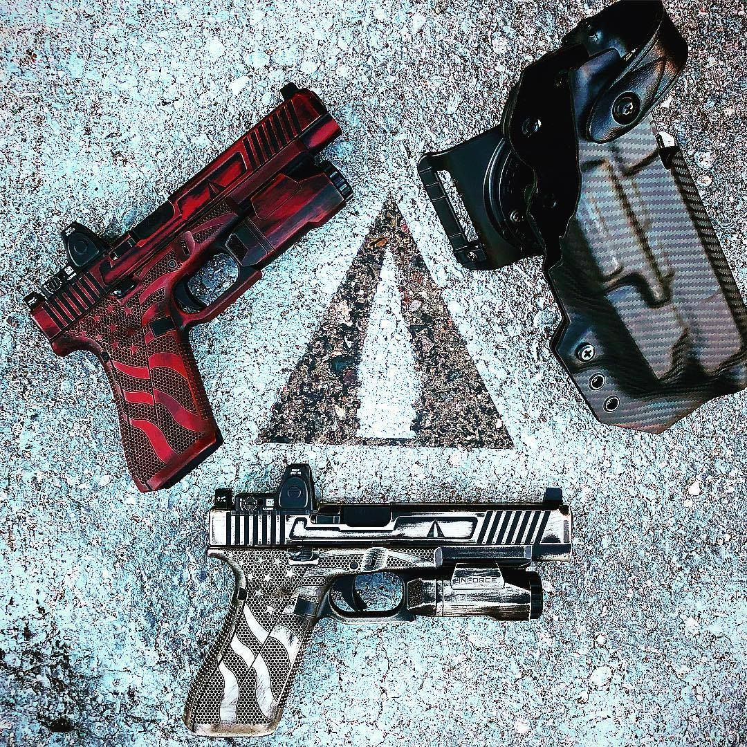 ATACSOL Glock 34 Gen 5 builds with Trijicon RMR and