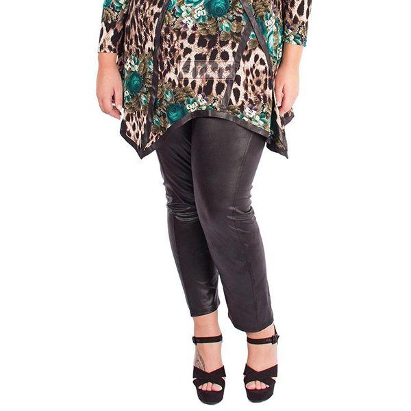 Magna Fashion - leggingsit/housut Leather Look - Housut - Jills.fi