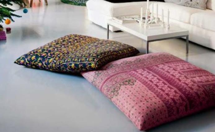 diy meditation cushion these pillows