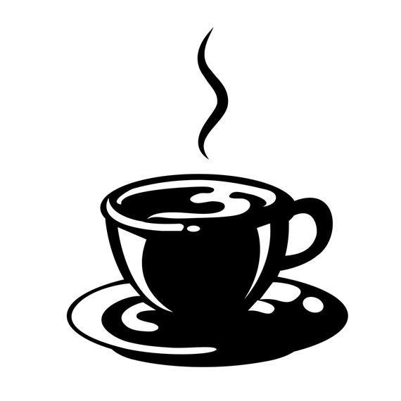 Coffee And Tea Cups Digital Clip Art Clipart Set Logo Design Graphic Design Commercial Use Png Eu Amo Cafe Cafe Desenho Coisas De Casa