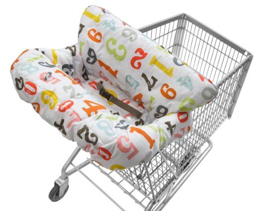 Amazon Com Infantino Cloud Cart Cover Numbers Baby Shopping