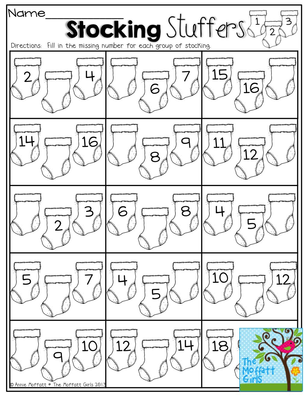 Stocking Stuffers What Come S Before After And In Between Christmas Kindergarten Preschool Math Teaching Kindergarten [ 1325 x 1024 Pixel ]